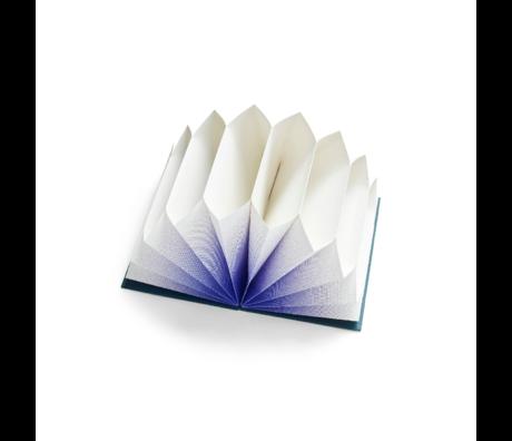 HAY Folder Plissé blue paper 35x23cm