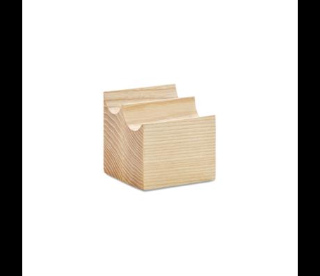 HAY Portalápices UU madera marrón 7.5x7.5x7cm
