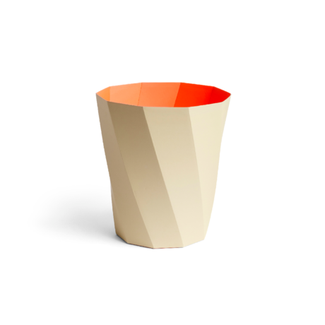 HAY Trash can Paper Paper Bin 12L beige cardboard Ø28x30.5cm