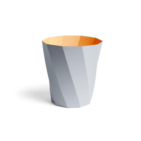 HAY Trash can Paper Paper Bin 12L light gray cardboard Ø28x30.5cm