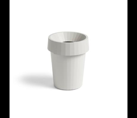 HAY Poubelle Shade Bin 14L plastique blanc Ø30x36.5cm