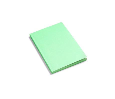 HAY Notebook Mono green paper 21x15cm