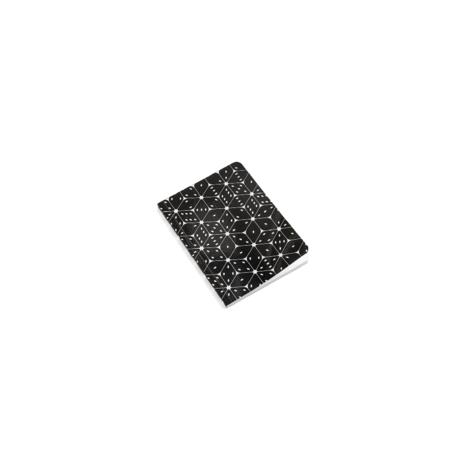 HAY Notebook Mean Machine A6 Dice in carta bianca e nera 10,5x14,8cm