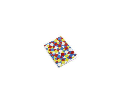 HAY Notebook Mean Machine A6 Quadrati e Triangoli in carta multicolore 10.5x14.8cm