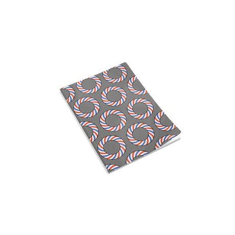 HAY Notebook Mean Machine A4 Nationalist Donuts carta multicolore 21x29,7cm