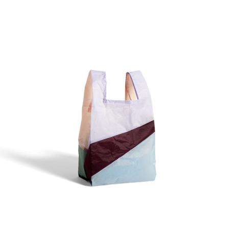 HAY Tasche Sechsfarbige Tasche M No2 Kunststoff Textil 27x55cm
