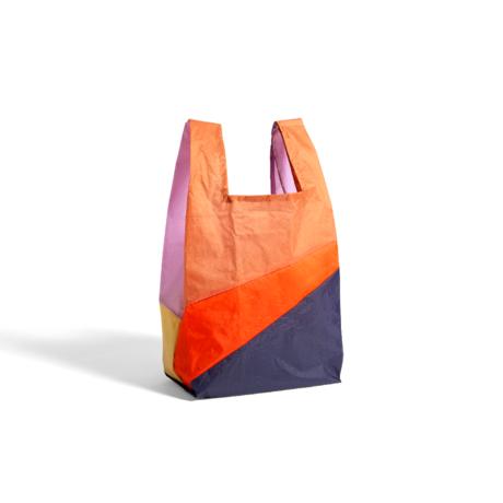HAY Tasche Sechsfarbige Tasche M No4 Kunststoff Textil 27x55cm