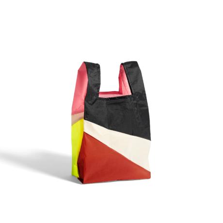 HAY Tasche Sechsfarbige Tasche M No5 Kunststoff Textil 27x55cm