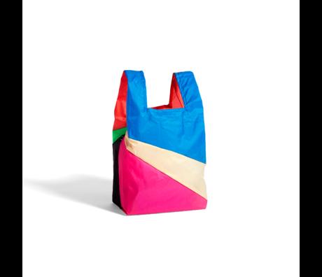 HAY Tasche Sechsfarbige Tasche M No6 Kunststoff Textil 27x55cm