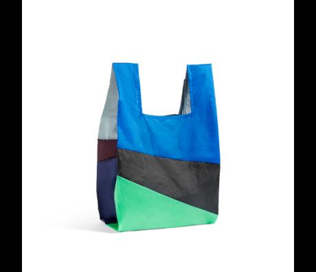 HAY Tasche Sechsfarbige Tasche L No1 Kunststoff Textil 37x71cm