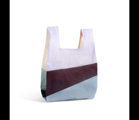 HAY Tasche Sechsfarbige Tasche L No2 Kunststoff Textil 37x71cm