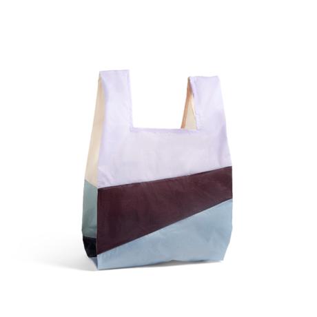 HAY Borsa Six-Colour Bag L No2 plastica tessile 37x71cm