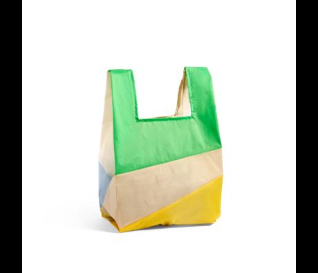 HAY Tasche Sechsfarbige Tasche L No3 Kunststoff Textil 37x71cm