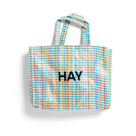 HAY Bag Multi Check M multicolour plastic 50x12x37cm