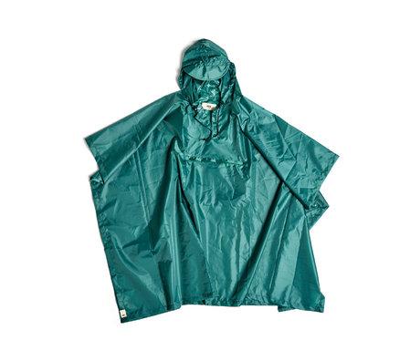 HAY Poncho Mono Rain in plastica verde 127x100cm