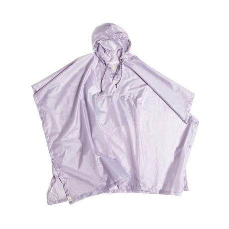 HAY Poncho Mono Rain lilla plastica 127x100cm