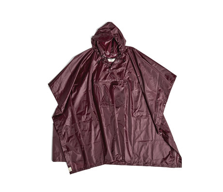 HAY Poncho Mono Rain brown plastic 127x100cm