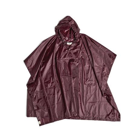 HAY Poncho Mono Rain in plastica marrone 127x100cm