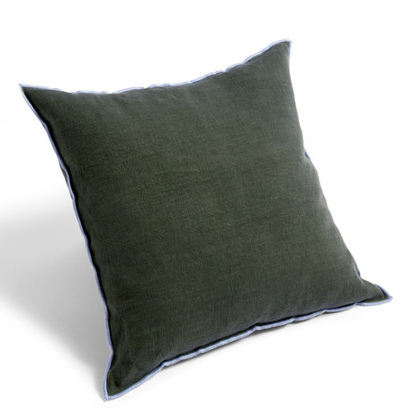 HAY Kissen Umriss grünes Textil 50x50cm