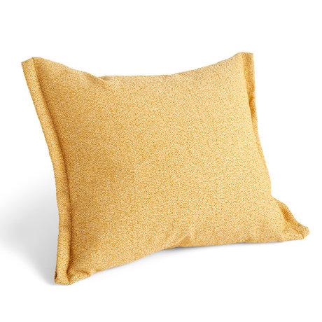 HAY Coussin Plica Sprinkle textile jaune 60x55cm