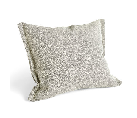 HAY Cuscino Plica Sprinkle tessuto beige 60x55cm