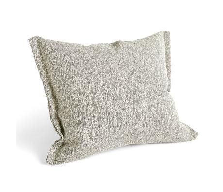 HAY Kissen Plica Sprinkle beige Textil 60x55cm