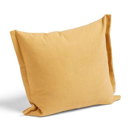 HAY Coussin Plica Tint textile jaune 60x55cm