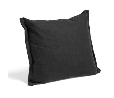 HAY Cojín Plica Tint textil negro 60x55cm