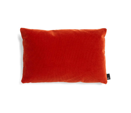 HAY Dekoratives Kissen Eklektisches rotes Textil 45x30cm