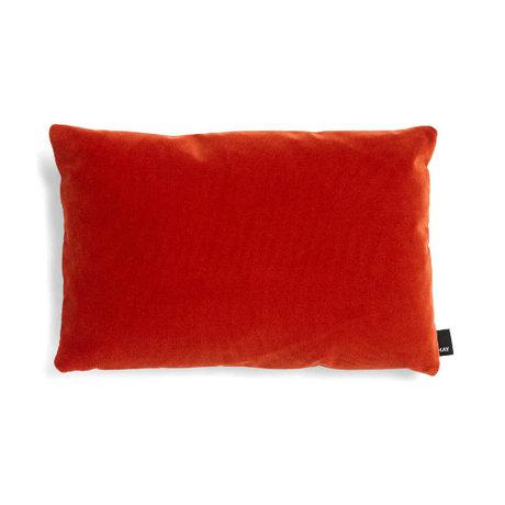 HAY Cojín decorativo textil rojo ecléctico 45x30cm