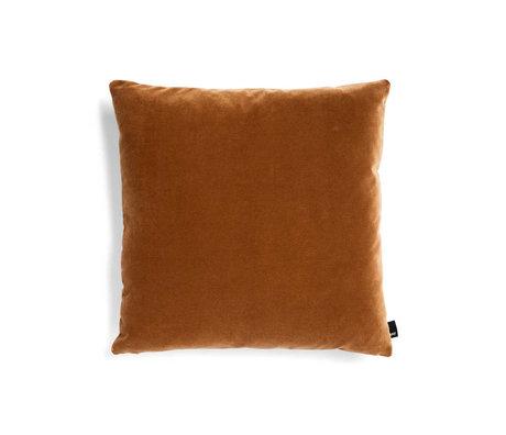 HAY Decorative cushion Eclectic terracotta textile 50x50cm
