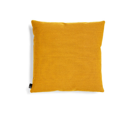 HAY Cojín decorativo textil amarillo ecléctico 50x50cm