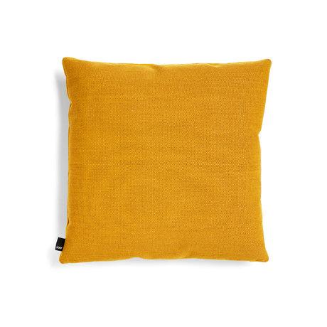 HAY Coussin décoratif Eclectic textile jaune 50x50cm