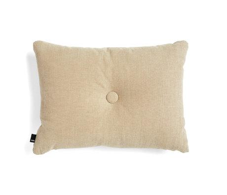 HAY Cuscino decorativo Dot tessuto beige 60x45cm