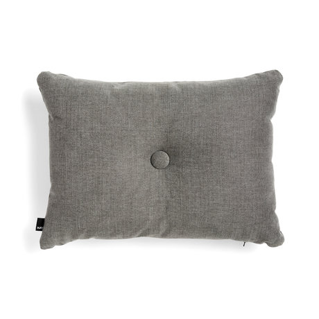 HAY Dekoratives Kissen Dot dunkelgraues Textil 60x45cm