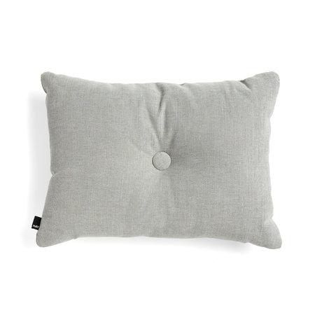 HAY Dekoratives Kissen Dot graues Textil 60x45cm