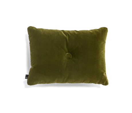 HAY Cushion Dot Soft green textile 60x45cm