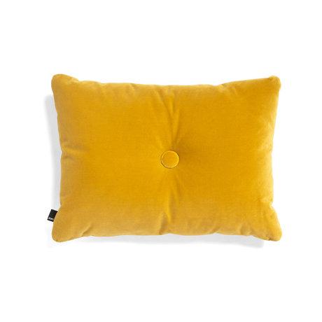HAY Coussin décoratif Dot Soft textile jaune 60x45cm