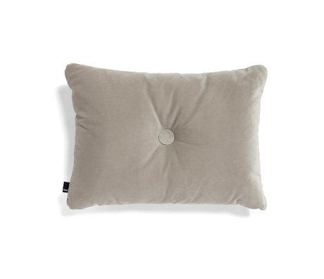 HAY Cuscino copriletto Dot Soft beige tessuto 60x45cm