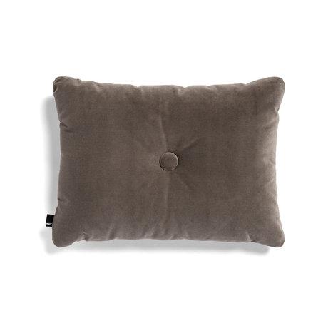 HAY Cuscino Dot Soft tessuto grigio 60x45cm