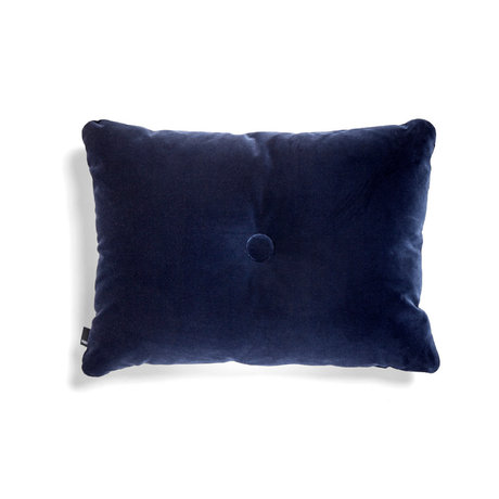 HAY Cuscino Dot Soft tessuto blu scuro 60x45cm