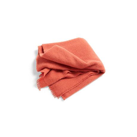 HAY Plaid Mono naranja lana 180x130cm
