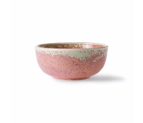 HK-living Bol Home Chef porcelaine rose Ø11.2x5cm