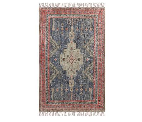 HK-living Teppich Überbüscheliges mehrfarbiges Textil 150x240cm