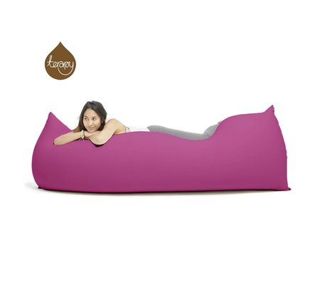 Terapy Beanbag Baloo algodón rosa 180x80x50cm 700 litros