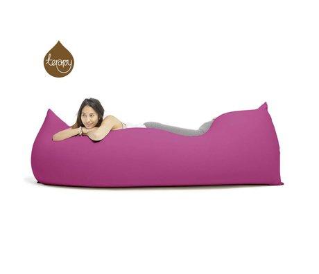 Terapy Beanbag Baloo pink bomuld 180x80x50cm 700liter