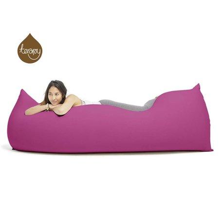 Terapy Beanbag Baloo pink cotton 180x80x50cm 700liter