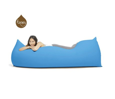 Terapy Beanbag Baloo turquoise cotton 180x80x50cm 700liter