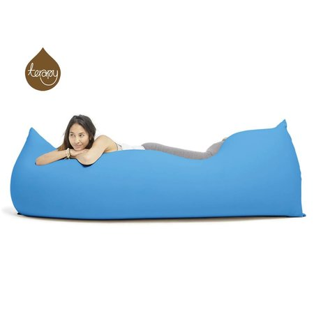 Terapy Pouf Baloo coton turquoise 180x80x50cm 700liter