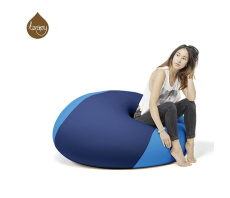 Terapy Beanbag Ollie azul turquesa 100x100x80cm 700 litros